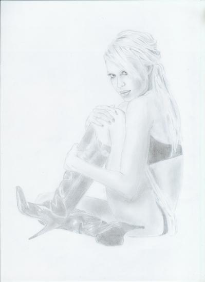 Jessica Alba par Coralie